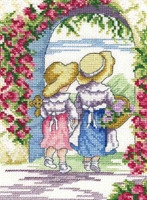 English Roses - All Our Yesterdays Cross Stitch Kit By Faye Whittaker