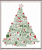 Let's Deck the Halls Cross Stitch Chart By Ursula Michael