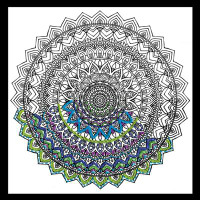 Zenbroidery - Mandala Cotton Fabric