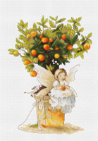 Mandarin Cross Stitch Kit by Luca-S