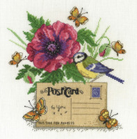 Bluetit Cross Stitch Kit By DMC
