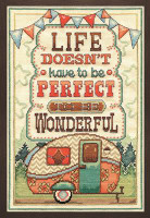Wonderful Life Cross Stitch Kit by Design Works
