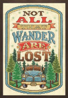 All That Wander Cross Stitch Kit by Design Works