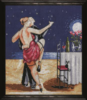 Night-time Tango Cross Stitch Kit by Design Works