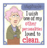 Other Personalities Cross Stitch Kit by Janlynn