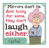 Mirrors Don't Lie Cross Stitch Kit by Janlynn