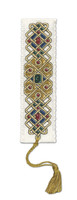 Celtic Jewel Bookmark Cross Stitch Kit by Textile Heritage