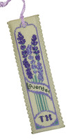 Lavender Bookmark Cross Stitch Kit by Textile Heritage