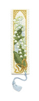 Lily of the Valley Bookmark Cross Stitch Kit by Textile Heritage