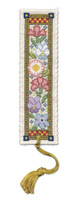 Medieval Garden Bookmark Cross Stitch Kit by Textile Heritage