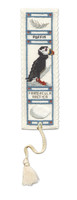 Puffin Bookmark Cross Stitch Kit by Textile Heritage