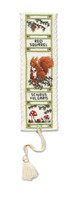 Red Squirrel Bookmark Cross Stitch Kit by Textile Heritage