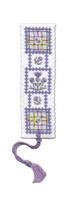 Tartan Thistles Bookmark Cross Stitch Kit by Textile Heritage