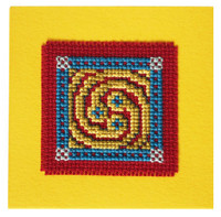 Celtic Spiral Keepsake Cross Stitch Kit by Textile Heritage