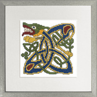 Celtic Hound Picture Cross Stitch Kit by Textile Heritage