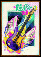 Rock 'n' Roll Cross Stitch Kit by Riolis