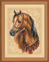 Arabian Horse Cross Stitch Kit by Riolis