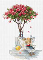 The Rose Cross Stitch Kit by Luca-S