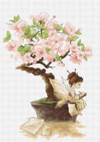 The Sakura Cross Stitch Kit by Luca-S