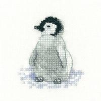 Penguin Chick Cross Stitch Kit By Heritage Crafts