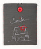 Smile Embroidery Tablet Cover Kit By Vervaco