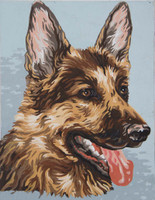 Alsatian Canvas only By Grafitec