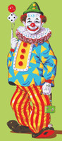 Juggling Clown Canvas only By Grafitec