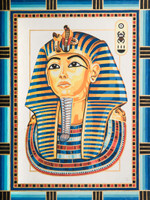 King Tutankhamun Canvas only By Grafitec