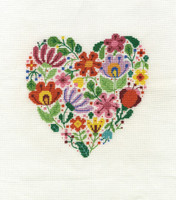 Bouquet of Love Cross Stitch Kit By DMC
