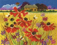 Autumn Pasture Cross Stitch Kit By DMC
