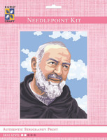Padre Pio Portrait  Tapestry Kit By Grafitec