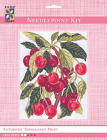 Cherries  Tapestry Kit By Grafitec