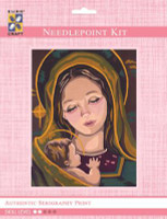 Madonna & Child II  Tapestry Kit By Grafitec