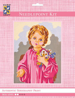 Child with Flowers  Tapestry Kit By Grafitec
