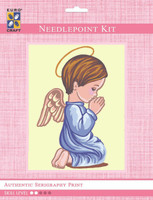 Angel Boy Silhouette  Tapestry Kit By Grafitec