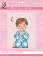 Angel Boy Moon & Stars  Tapestry Kit By Grafitec
