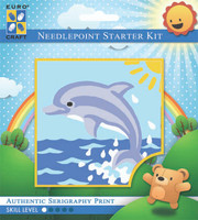 Sunrise Dolphin  Tapestry Kit By Grafitec