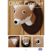 Fox in DMC Petra Crochet Cotton Perle No. 3 Pattern Leaflet