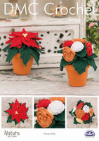Flower Pots Crochet Pattern Leaflet  By DMC