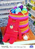 Bear And Storage Tub  Crochet Pattern by DMC