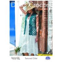 Textured Gillet Crochet Pattern by DMC