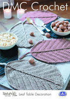 Leaf Table Decoration Crochet Pattern by DMC