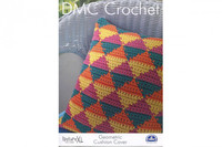 Geometric Cushion Cover Crochet Pattern by DMC