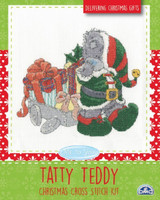Christmas Presents Tatty Teddy  Cross Stitch Kit By DMC