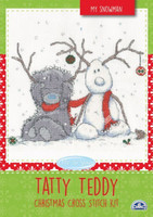 My Snowman Tatty Teddy Cross Stitch Kit By DMC
