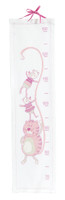 Height Gauge Pink Counted Cross Stitch Kit By DMC