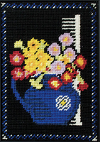 Polyanthus Picture - 'Bloomsbury Group' Collection Tapestry Kit