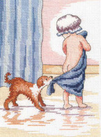 Play With Me - All Our Yesterdays Cross Stitch Kit By Faye Whittaker