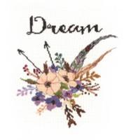 Watercolour Flowers Dream Cross Stitch Kit by Janlynn