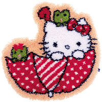 Hello Kitty: In the Umbrella Latch Hook Rug